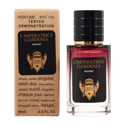 Noble Royale L'Imperatrice Gardenia TESTER LUX, женский, 60 мл