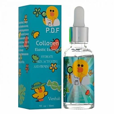 Сыворотка для лица Venhali Collagen Elastic Essence УЦЕНКА